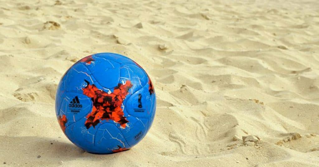 balon de futbol playa 2