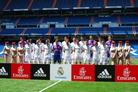 formacion del club de futbol real madrid y mas