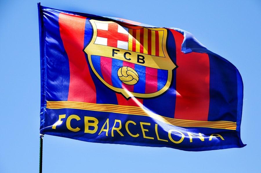 Bandera del Fútbol Club Barcelona e3653680ce0