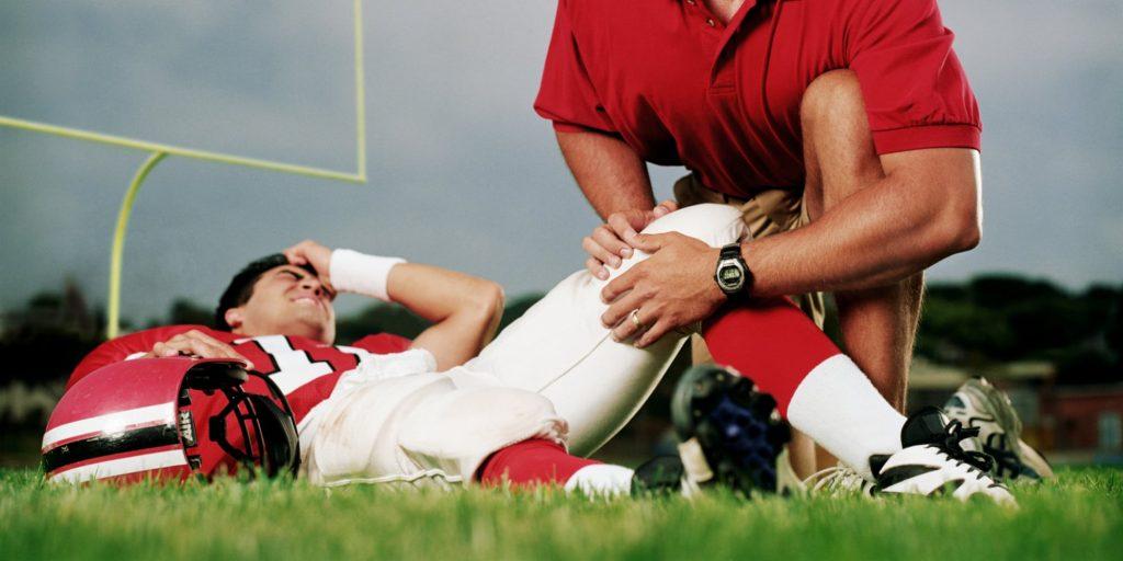 conoce las lesiones en el fútbol americano