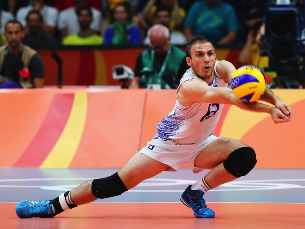 Ejercicios de recepción en voleibol