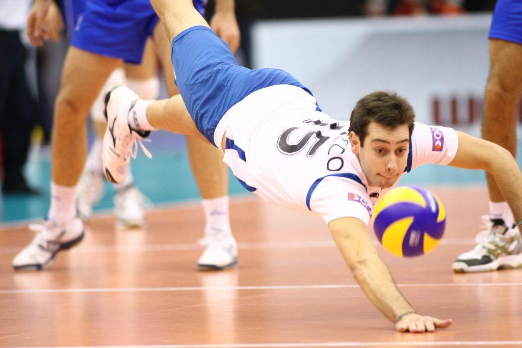 Posiciones de los jugadores de voleibol