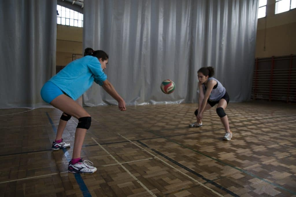 Defensa en voleibol