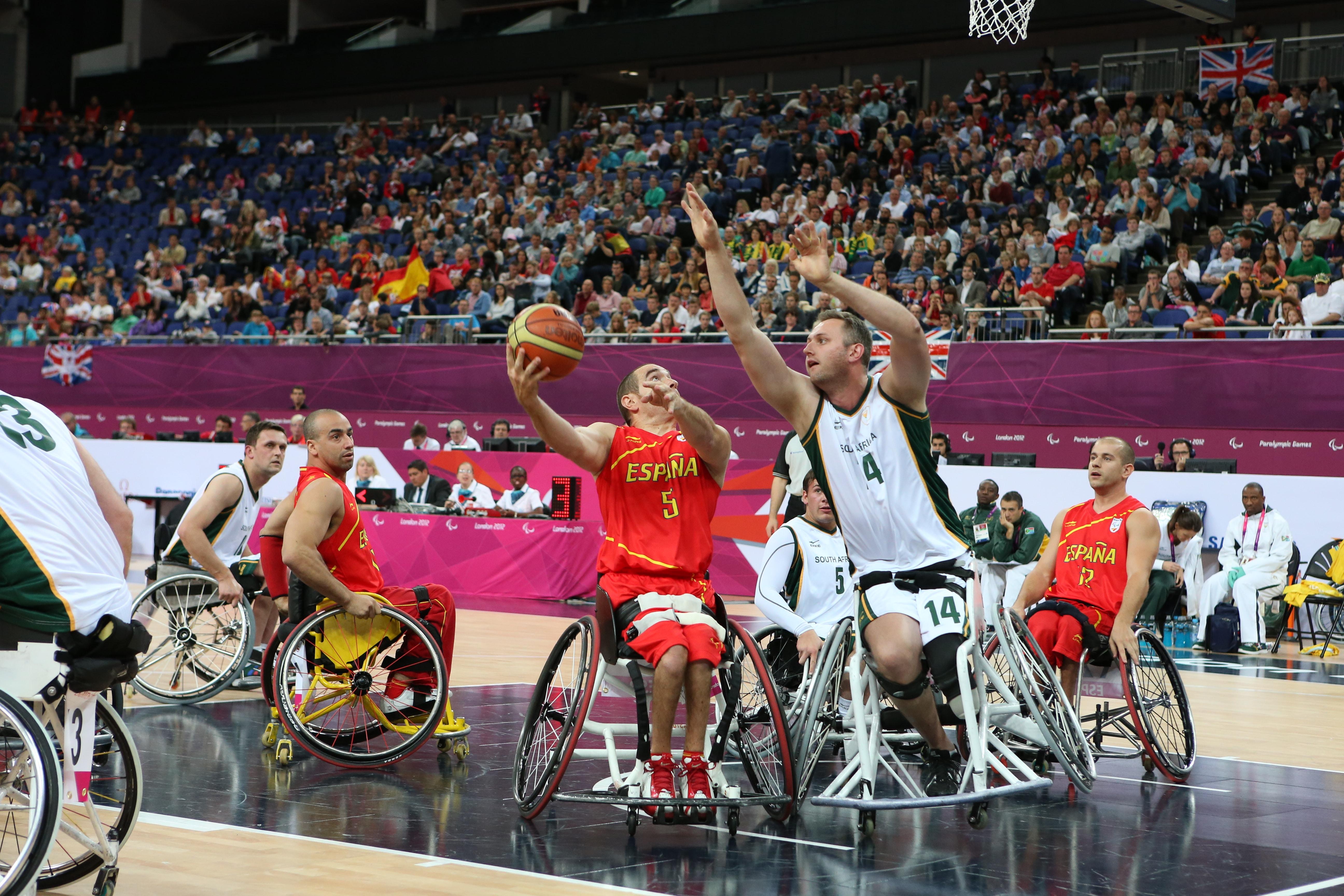 Basquetbol en silla de ruedas
