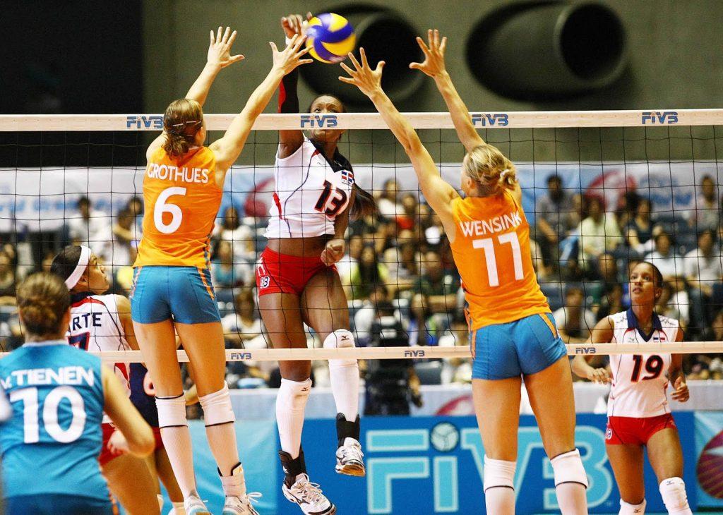 Remate y bloqueo en voleibol: