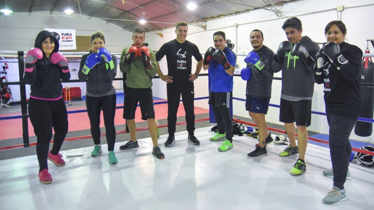boxeo recreativo y mas