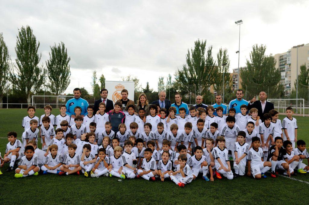 club de futbol real madrid niños
