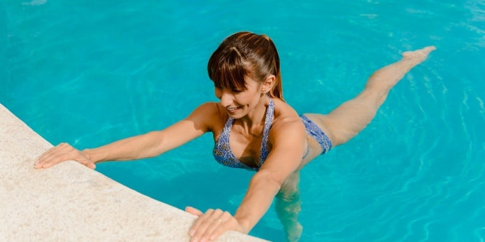 ver ejercicios en piscina