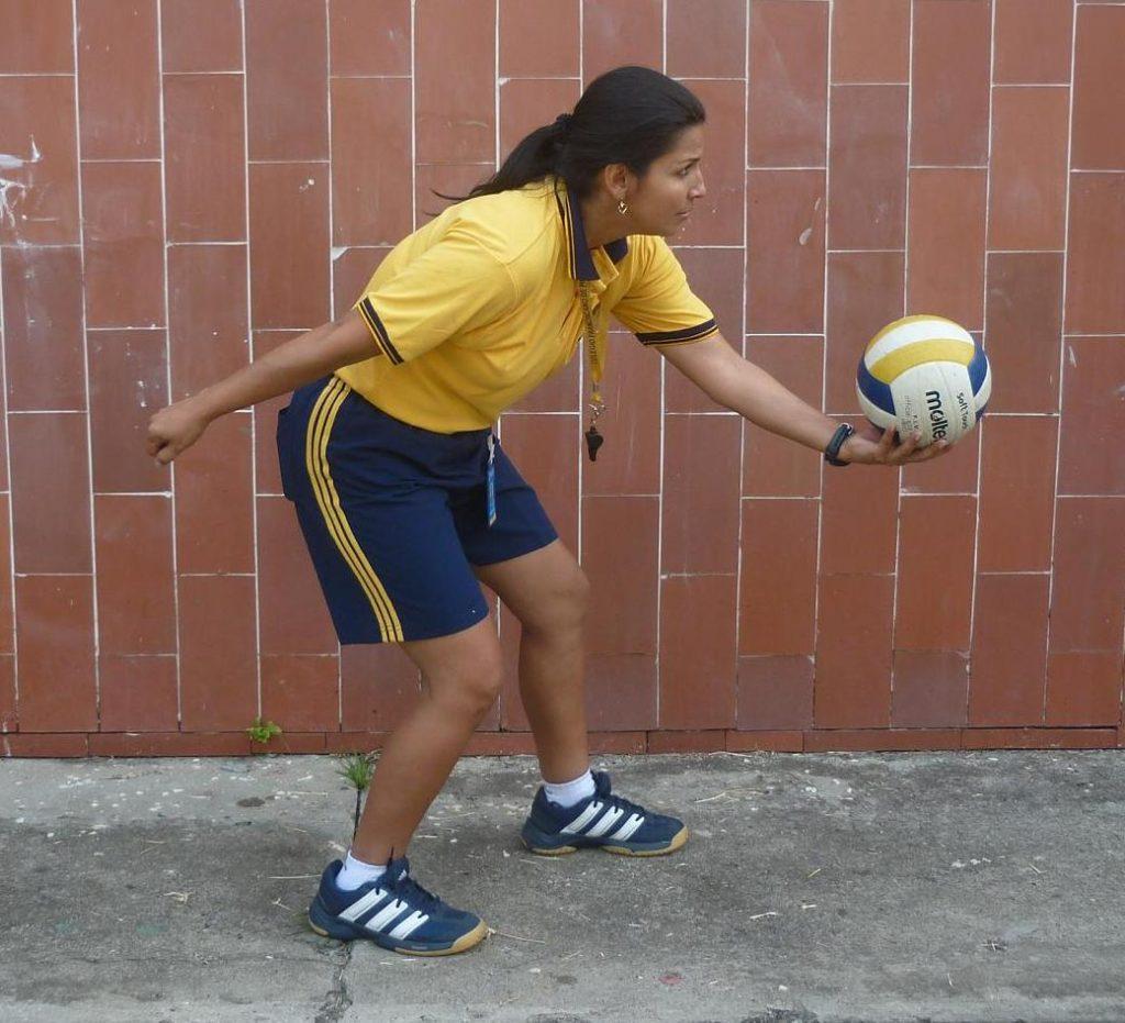 Técnicas del voleibol
