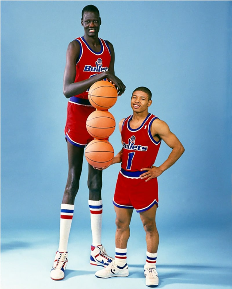 conoce cuáles son los jugadores de la NBA más altos