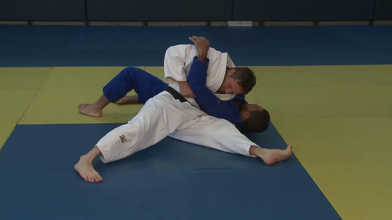 Newaza judo