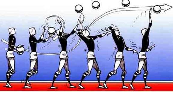 ver saque de voleibol