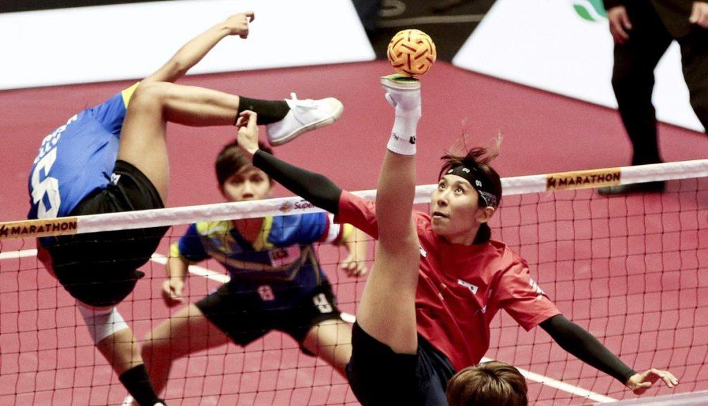 conoce más sobre el voleibol con los pies