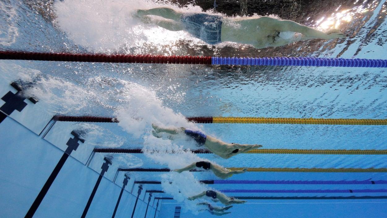 Campeón mundial de natación