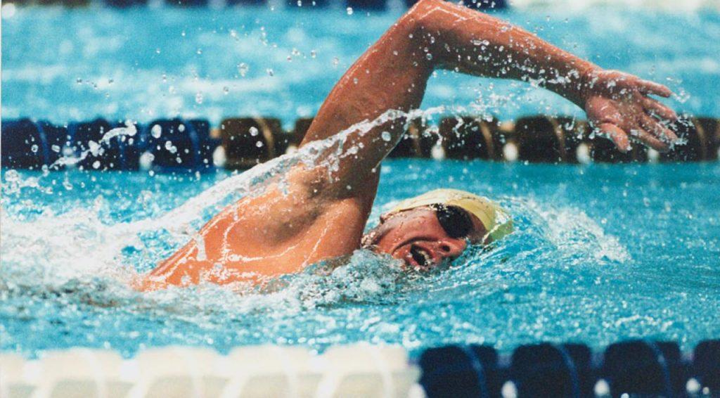 entrenamiento de natacion