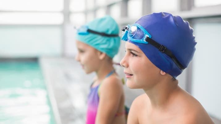 ejercicios de natación para principiantes niños