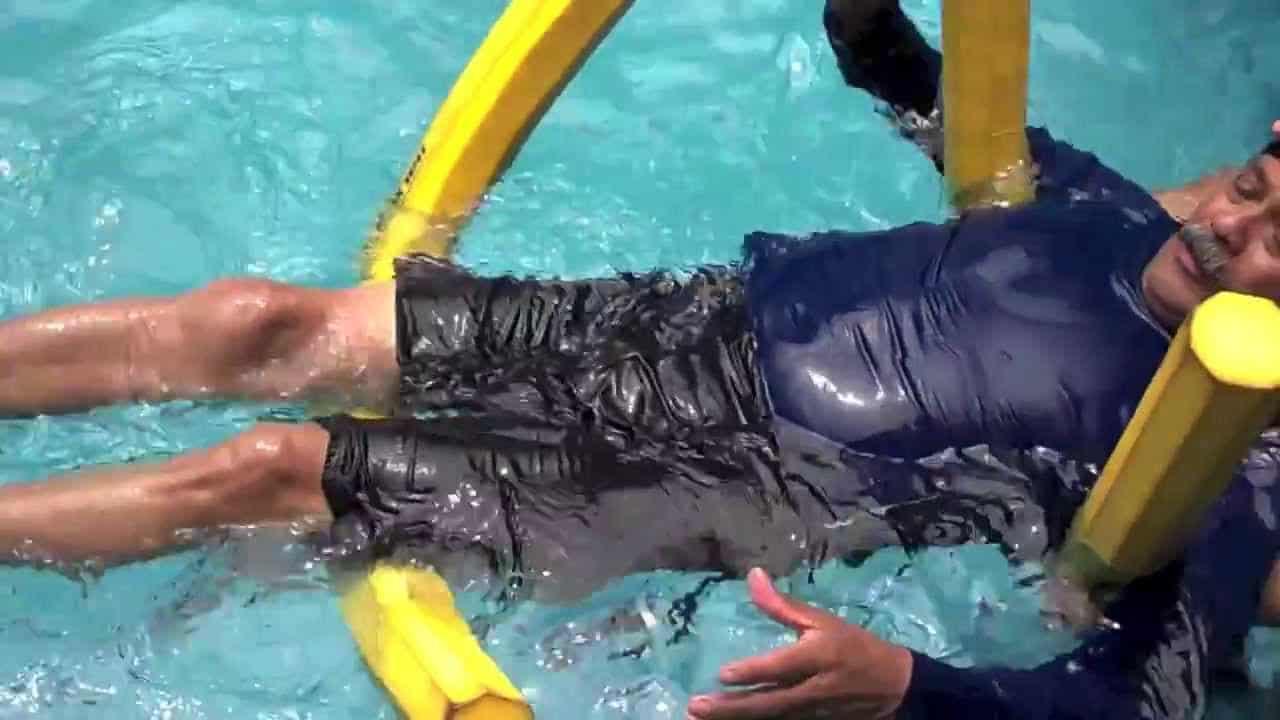 Ejercicios de natación de espalda