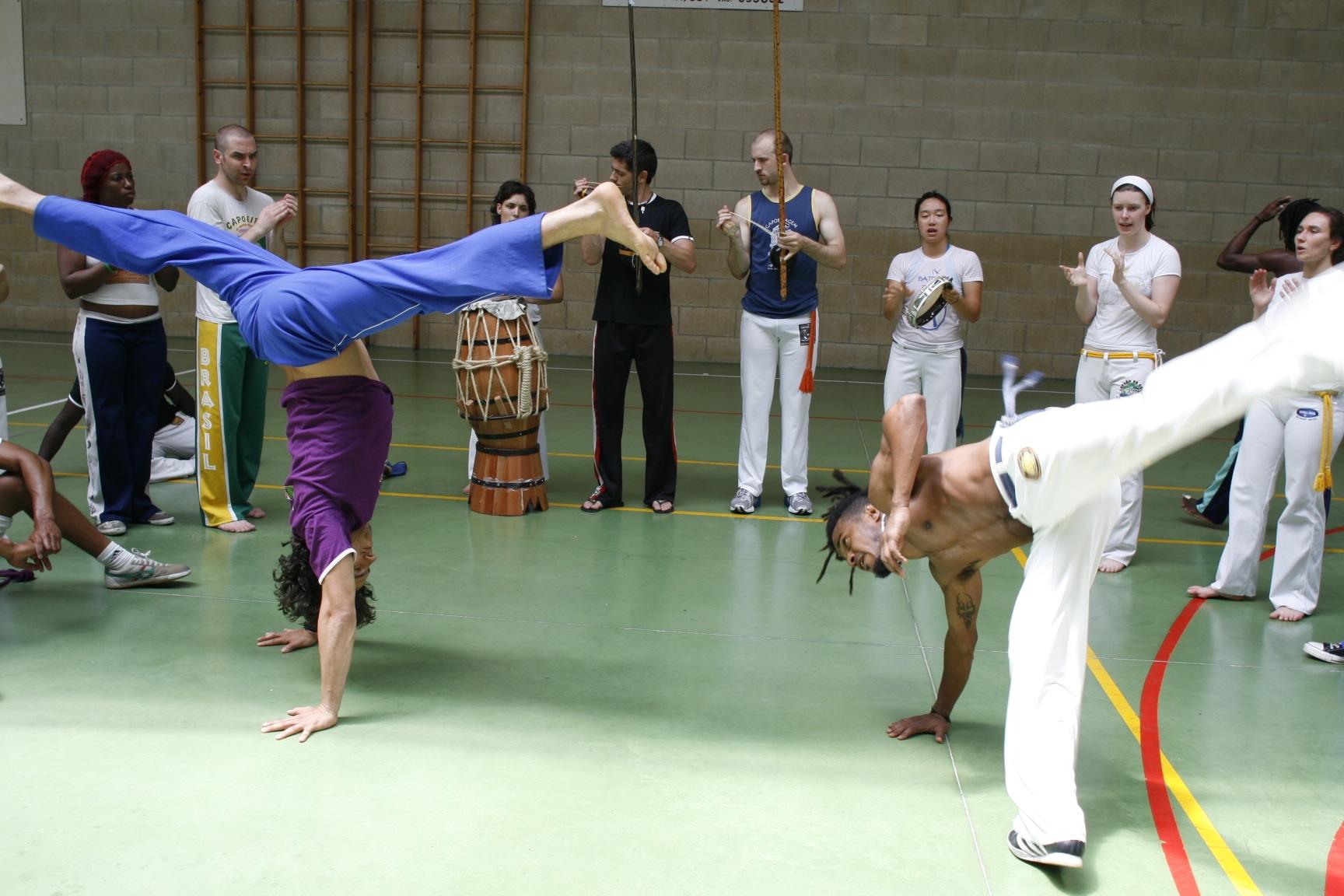 Movimientos de capoeira