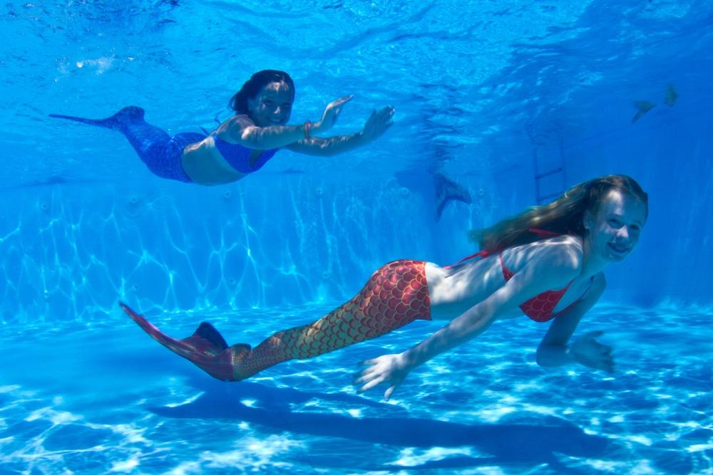 aprende todo sobre cómo nadar como una sirena
