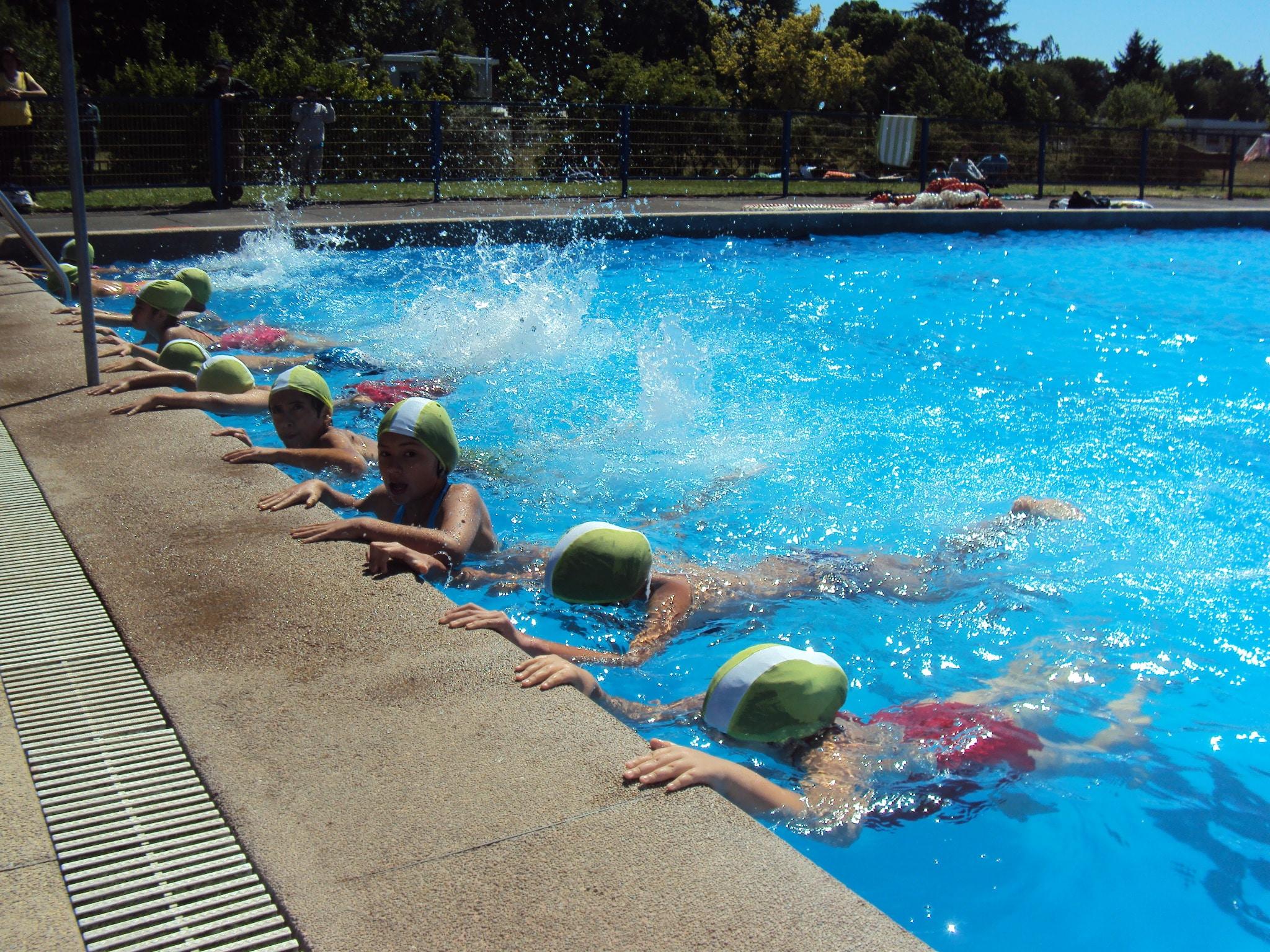 Ejercicios de natación para niños: respiración, y todo lo