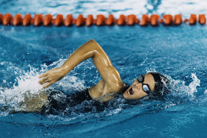 Técnicas de natación respiración