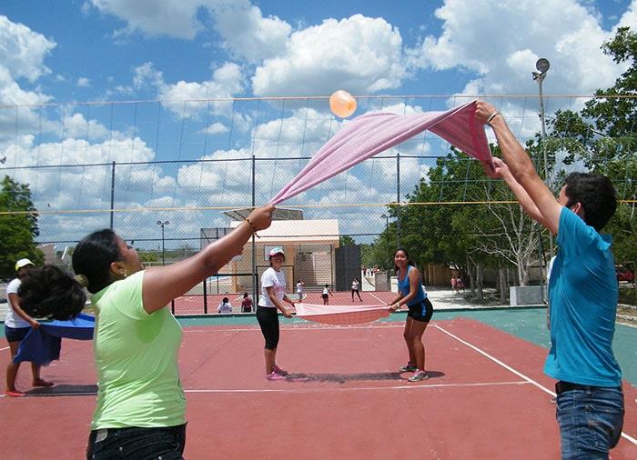 ver como jugar voleibol