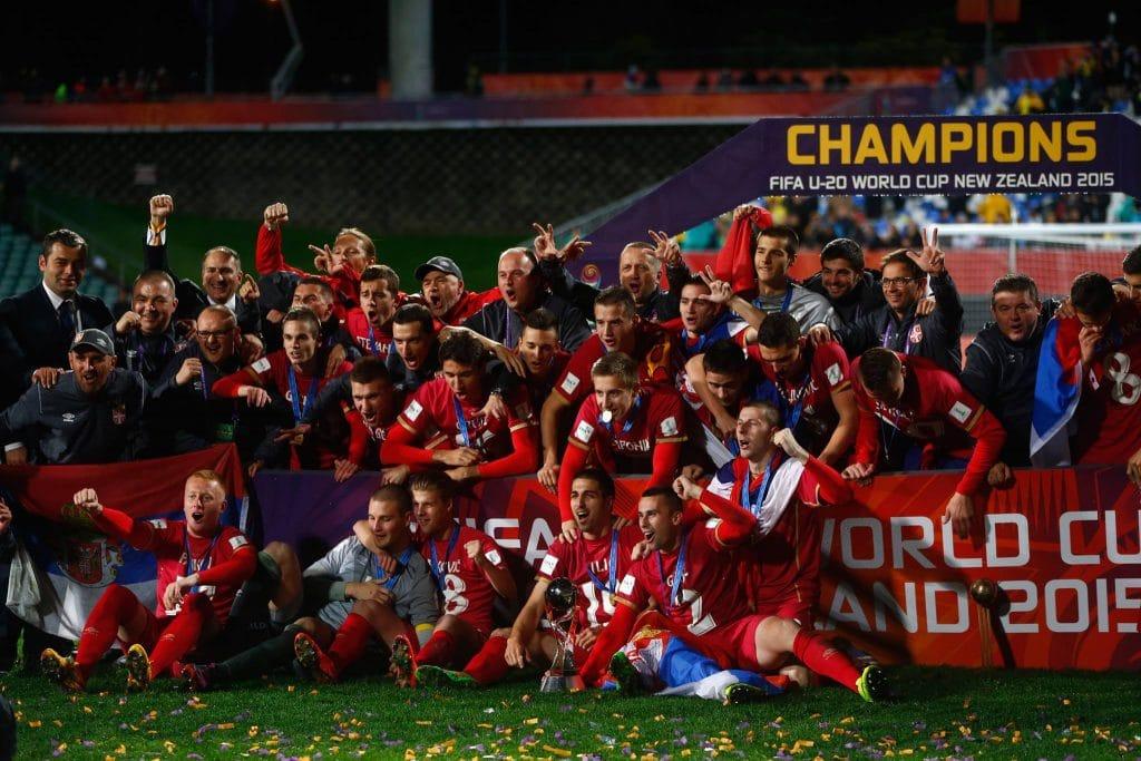 Serbia campeón en el mundial zelanda 2015