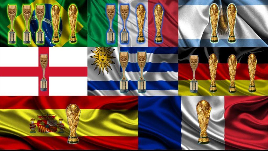 conoce los países con más copas del mundo