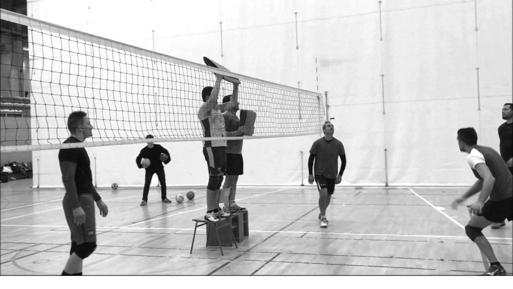 Ejercicios de bloqueos en voleibol