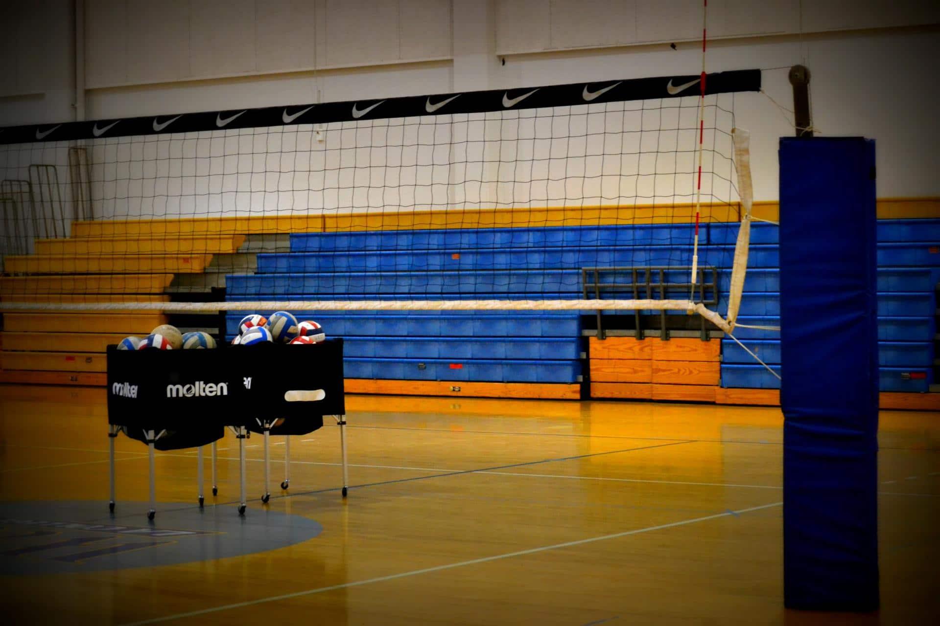 Altura dela red de voleibol para las diferentes categorias