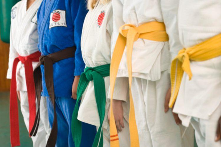colores cinturones judo