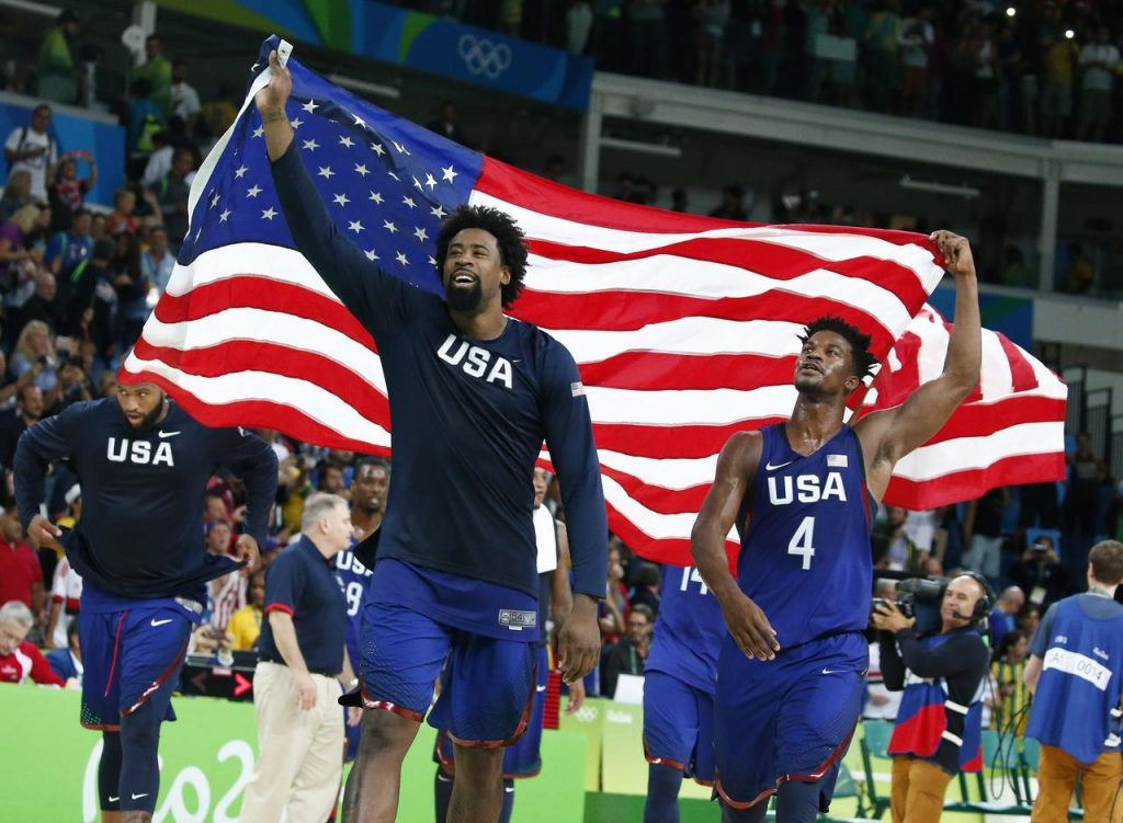 Baloncesto un juego olímpico