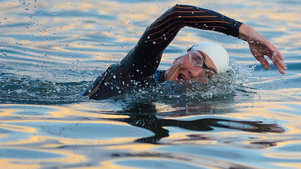 Entrenamiento de natación principiantes