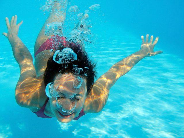 ver historia de la natación