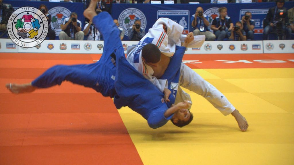 combate de judo