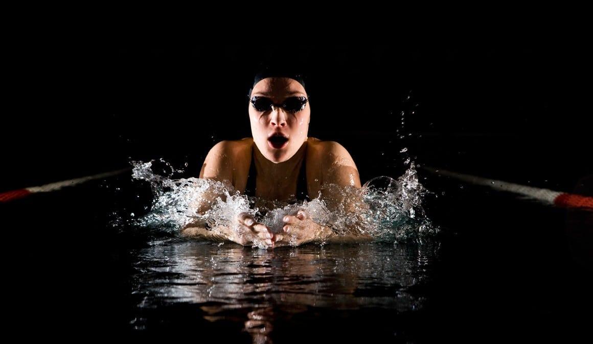 entrenamiento de natación de alto rendimiento