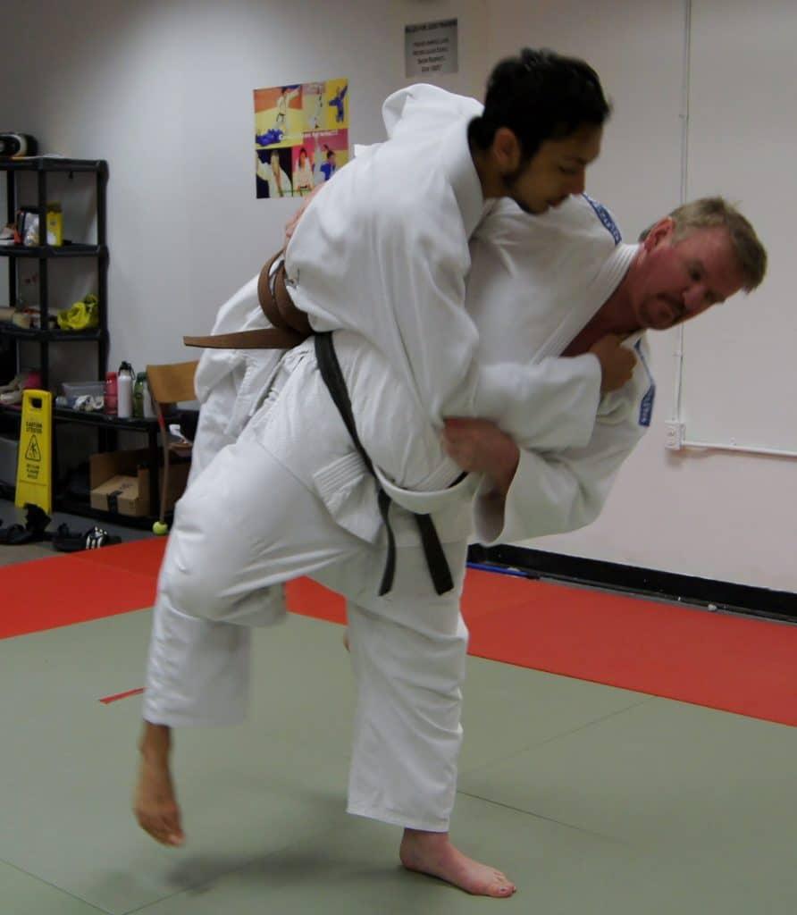 tecnicas de judo